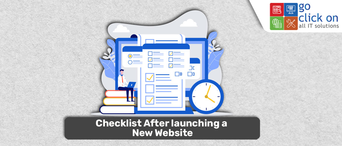 Checklist After Launching A New Website